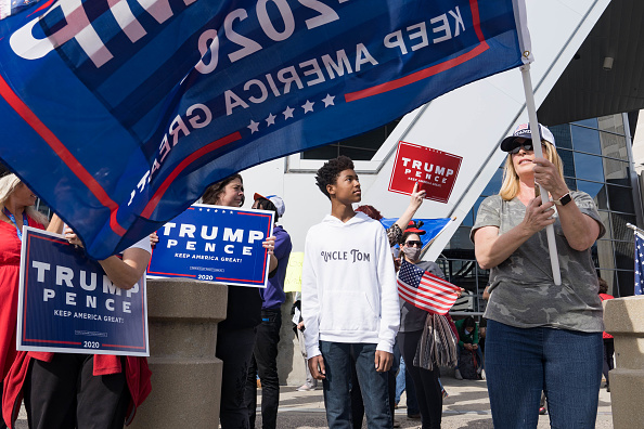 Georgia - US State「Protesters Gather Outside State Farm Arena In Georgia As Ballots Continue To Be Counted」:写真・画像(8)[壁紙.com]