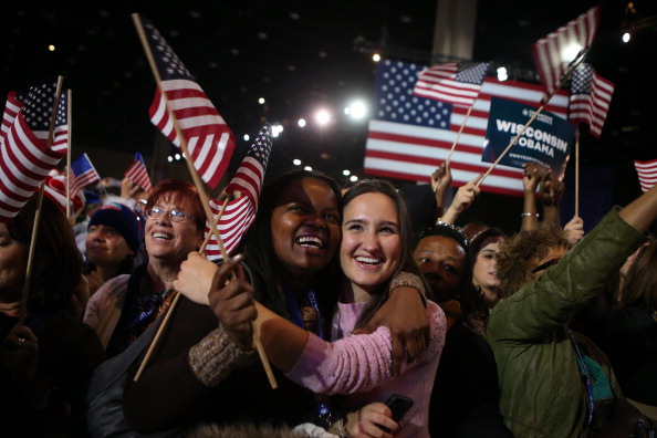 Event「President Obama Holds Election Night Event In Chicago」:写真・画像(1)[壁紙.com]