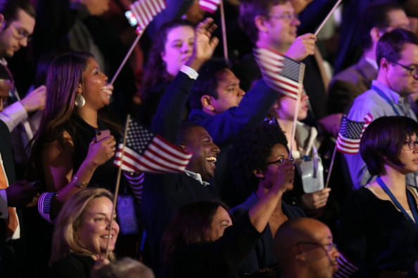 Win McNamee「President Obama Holds Election Night Event In Chicago」:写真・画像(19)[壁紙.com]