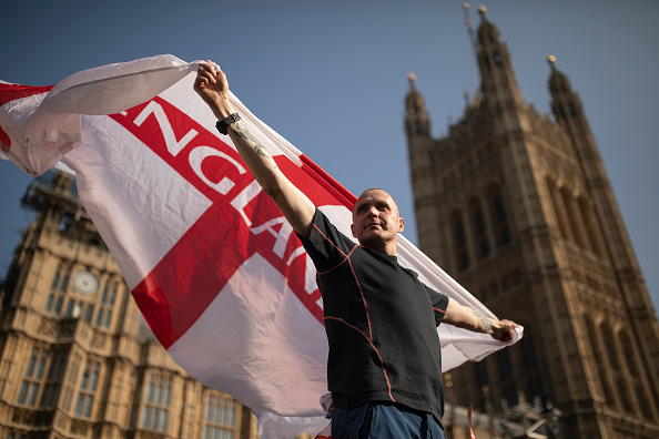 Brexit「Pro-Brexit Supporters Rally On The Day The UK Should Have Left The EU」:写真・画像(9)[壁紙.com]