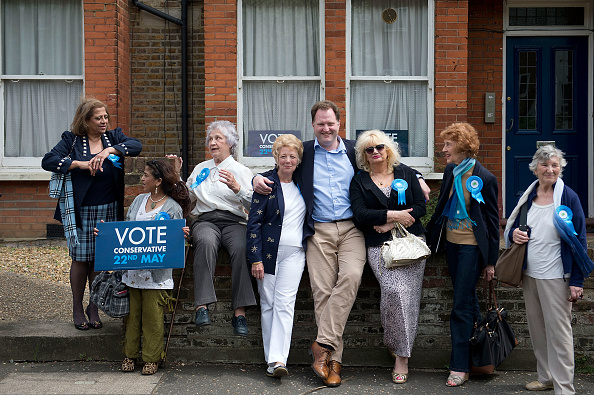 Conservative Party - UK「Prime Minster British Prime Minister David Cameron Attends A Rally Before European And Local Elections」:写真・画像(19)[壁紙.com]