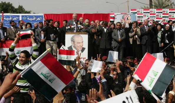 Ayad Allawi「Election Campaigns Intensify In Baghdad」:写真・画像(13)[壁紙.com]