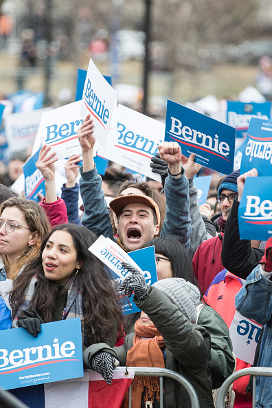 Scott Eisen「Presidential Candidate Bernie Sanders Holds Campaign Rally In Boston」:写真・画像(6)[壁紙.com]