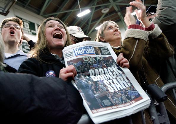 United States Presidential Election「Barack Obama Campaigns Through New Hampshire」:写真・画像(5)[壁紙.com]