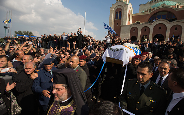 Republic Of Cyprus「Mourners Pay Their Respects To Former Cypriot President Glafcos Clerides Who Died Aged 94」:写真・画像(8)[壁紙.com]