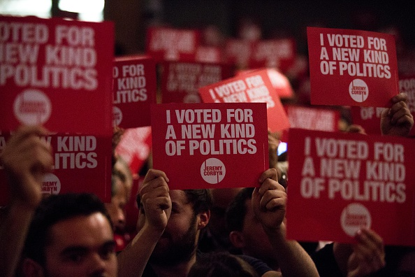 Labor Party「Jeremy Corbyn Holds Final Rally Of The Labour Leadership Campaign」:写真・画像(2)[壁紙.com]