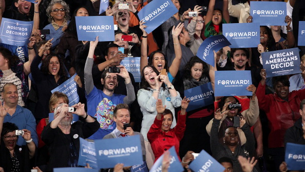 Florida - US State「Obama Rallies Supporters In Battleground State Of Nevada」:写真・画像(8)[壁紙.com]