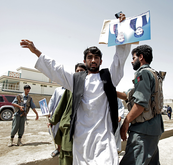 Kabul「Presidential Candidates Campaign Ahead Of Afghan Election」:写真・画像(15)[壁紙.com]