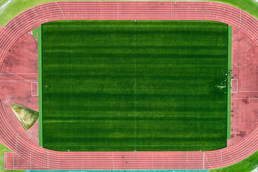Sports Training「The drones' viewpoint of the stadium.」:スマホ壁紙(3)