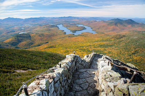 Lake Placid「Trail leading to the summit of Whiteface Mountain」:スマホ壁紙(8)