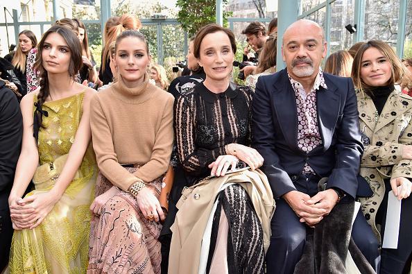 オリヴィア・パレルモ「Valentino : Front Row  - Paris Fashion Week Womenswear Fall/Winter 2017/2018」:写真・画像(16)[壁紙.com]