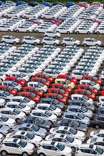 Car「Car parking lot」:スマホ壁紙(4)