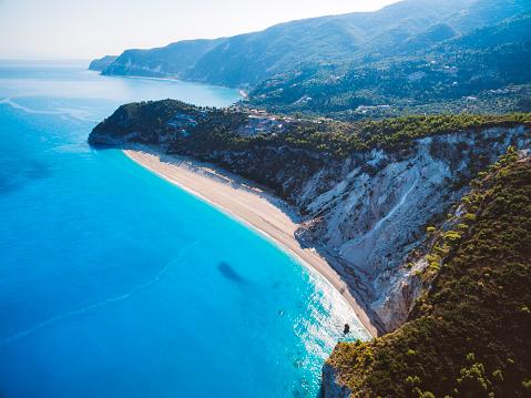 ビーチ「ギリシャのパラダイス」:スマホ壁紙(17)