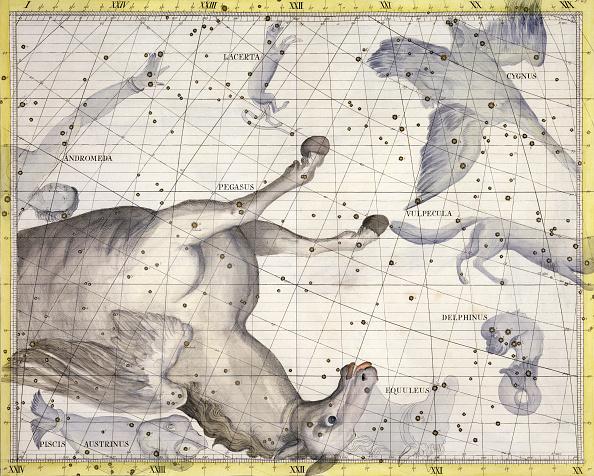 star sky「Constellation Of Pegasus 1729」:写真・画像(18)[壁紙.com]