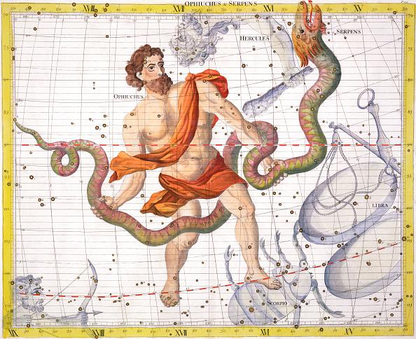 Starry sky「Constellation Of Ophiucus 1729」:写真・画像(8)[壁紙.com]