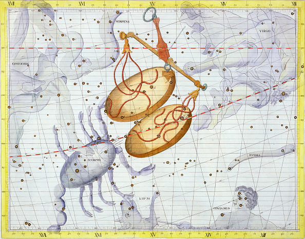 star sky「Constellation Of Libra 1729」:写真・画像(19)[壁紙.com]