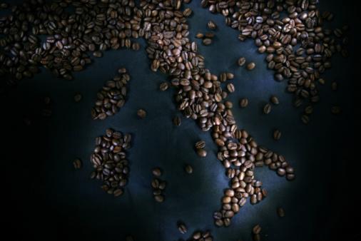 Roasted Coffee Bean「Constellation of coffee beans」:スマホ壁紙(19)