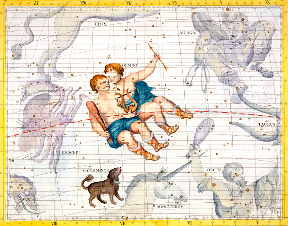 星空「Constellations Of Gemini And Canis Minor 1729」:写真・画像(19)[壁紙.com]