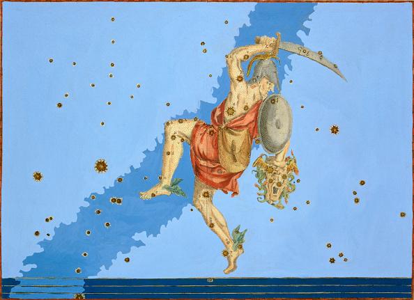 star sky「Constellation Of Perseus 1603」:写真・画像(5)[壁紙.com]