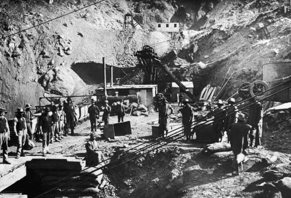 1880-1889「Kimberley Diamond Mine」:写真・画像(14)[壁紙.com]
