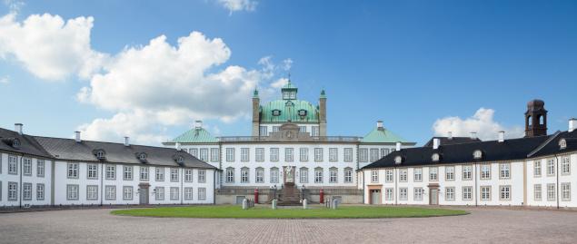 Palace「Fredensborg Palace」:スマホ壁紙(2)