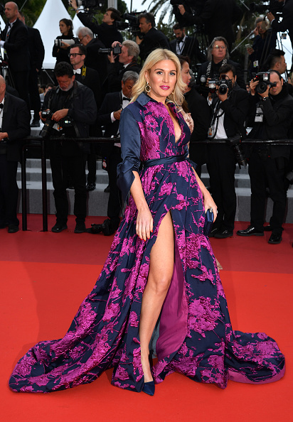 "Thigh High Slit「""A Hidden Life (Une Vie Cachée)"" Red Carpet - The 72nd Annual Cannes Film Festival」:写真・画像(5)[壁紙.com]"