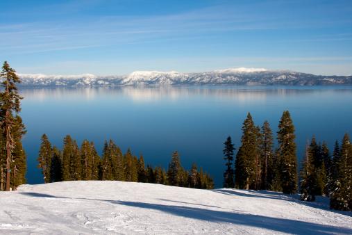 Ski Resort「Lake Tahoe, California」:スマホ壁紙(11)