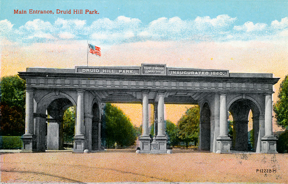 City Life「Baltimore: Druid Hill Park」:写真・画像(11)[壁紙.com]