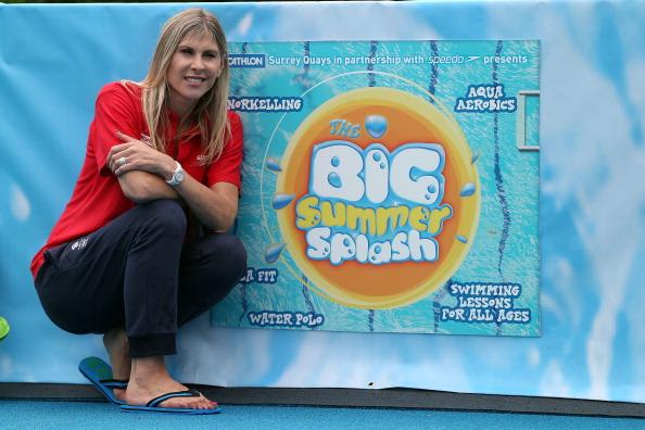 Sharron Davies「Decathlon In Partnership With Speedo Presents Big Summer Splash Event」:写真・画像(15)[壁紙.com]