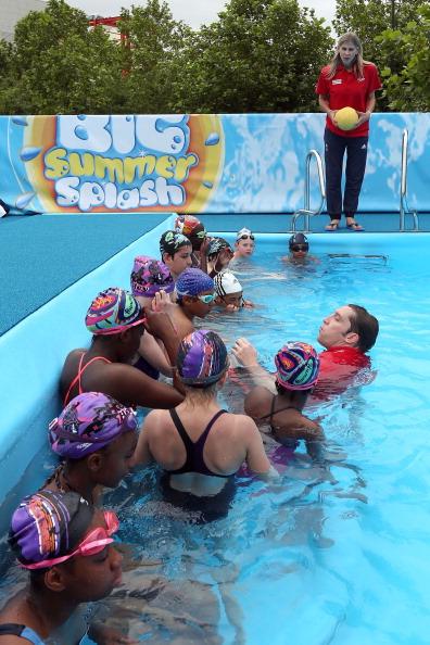 Sharron Davies「Decathlon In Partnership With Speedo Presents Big Summer Splash Event」:写真・画像(18)[壁紙.com]