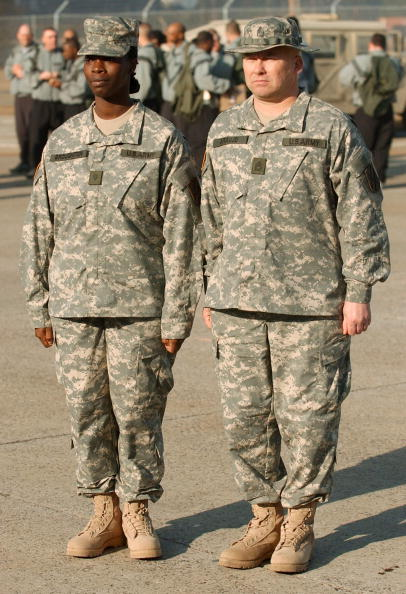 Daniel Gi「New Army Combat Uniform Debuts At Fort Stewart」:写真・画像(5)[壁紙.com]