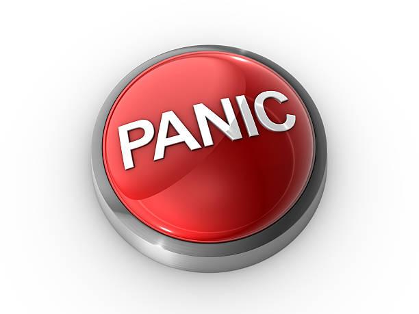 Red panic button on white background:スマホ壁紙(壁紙.com)