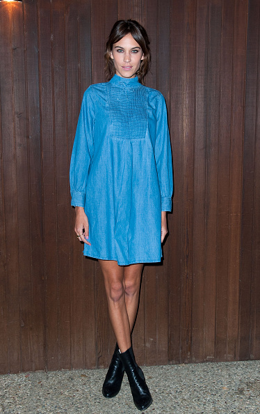 Blue「Alexa Chung For AG Los Angeles Launch Party - Arrivals」:写真・画像(13)[壁紙.com]