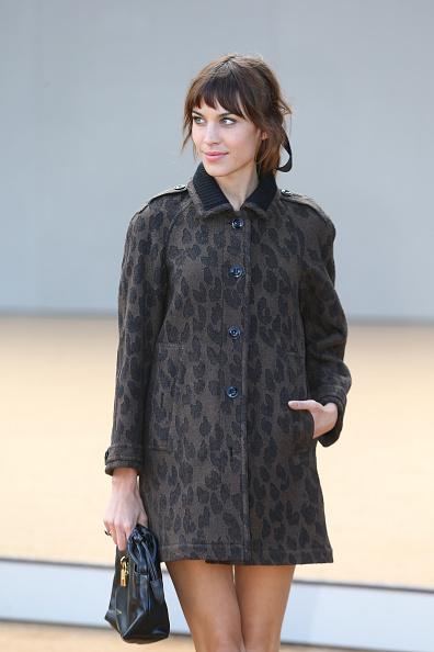 Bangs「Burberry Prorsum - Red Carpet Arrivals: London Fashion Week SS14」:写真・画像(7)[壁紙.com]