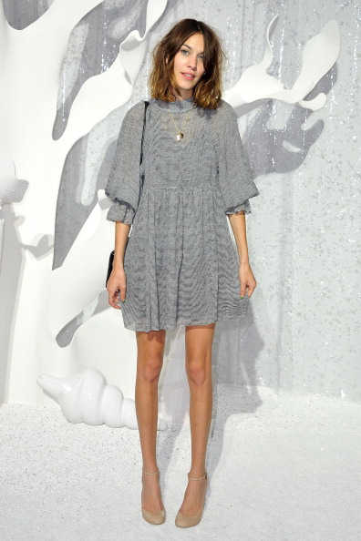 Baby Doll Dress「Chanel: Front Row - Paris Fashion Week Spring / Summer 2012」:写真・画像(16)[壁紙.com]