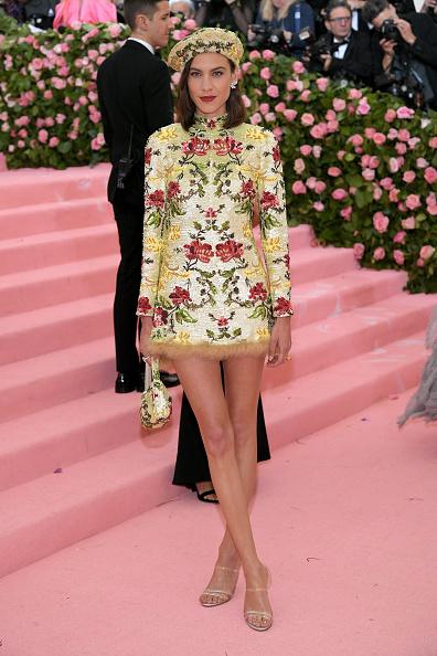 Floral Pattern Dress「The 2019 Met Gala Celebrating Camp: Notes on Fashion - Arrivals」:写真・画像(1)[壁紙.com]