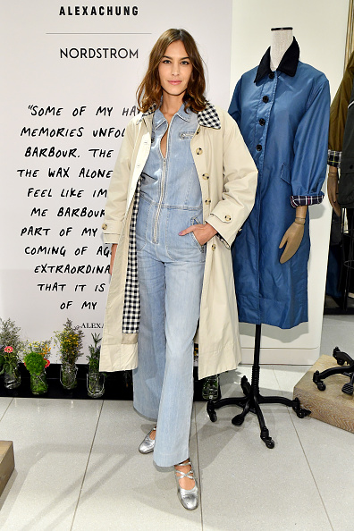 Jumpsuit「Alexa Chung Celebrates Barbour By ALEXACHUNG Fall 2019 Collection At Nordstrom」:写真・画像(7)[壁紙.com]