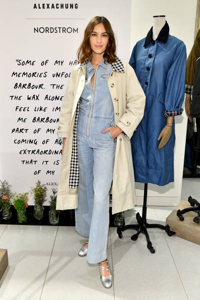 Alexa Chung Celebrates Barbour By ALEXACHUNG Fall 2019 Collection At Nordstrom:ニュース(壁紙.com)