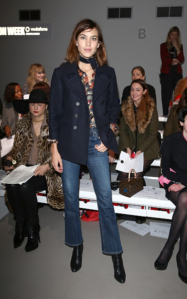 London Fashion Week「Day 5 - Front Row - LFW FW15」:写真・画像(7)[壁紙.com]