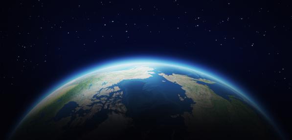 地球「地球のスペース」:スマホ壁紙(14)