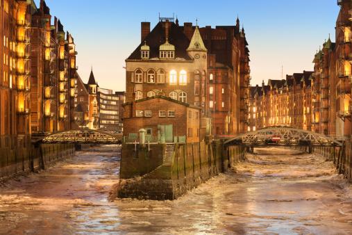 Ice floe「Speicherstadt Hamburg」:スマホ壁紙(14)
