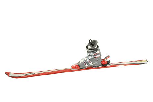 スキーブーツ「Ski and ski boot」:スマホ壁紙(9)