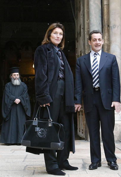 Old Town「French Presidential Candidate Nikolas Sarkozy Visits Jerusalem」:写真・画像(1)[壁紙.com]