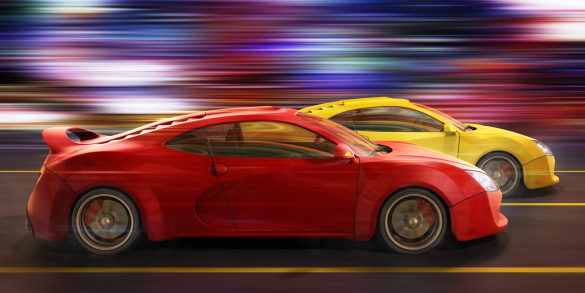 Sports Car「street race」:スマホ壁紙(4)