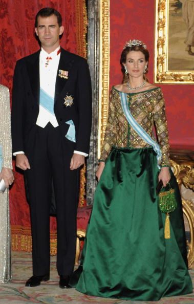 Madrid Royal Palace「Spanish Royal Family Receive Putin」:写真・画像(8)[壁紙.com]