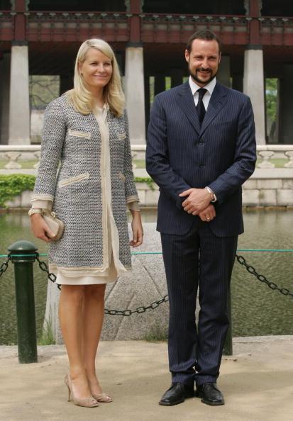 Gyeongbokgung「Norwegian Royals Visit South Korea - Day Two」:写真・画像(12)[壁紙.com]
