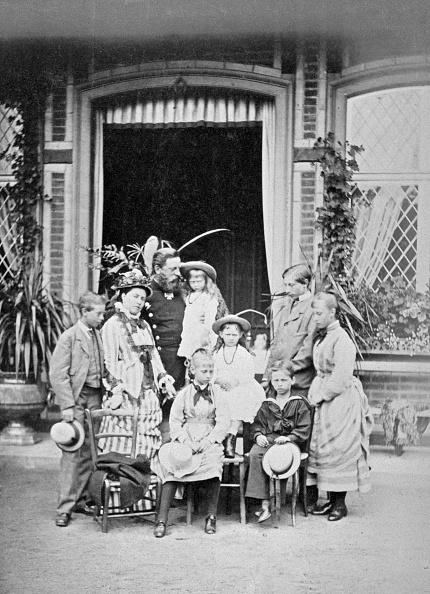 1870-1879「Crown Prince And Princess Of Prussia And Their Family」:写真・画像(13)[壁紙.com]