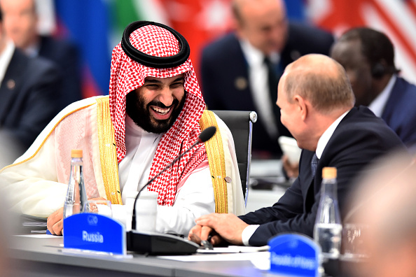 Crown Prince「Argentina G20 Leaders' Summit 2018 - Day 1 Of Sessions」:写真・画像(1)[壁紙.com]