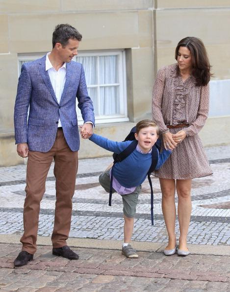 First Day Of School「Prince Christian of Denmark's First School Day」:写真・画像(7)[壁紙.com]