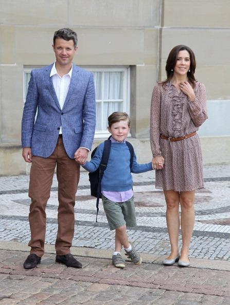 First Day Of School「Prince Christian of Denmark's First School Day」:写真・画像(9)[壁紙.com]